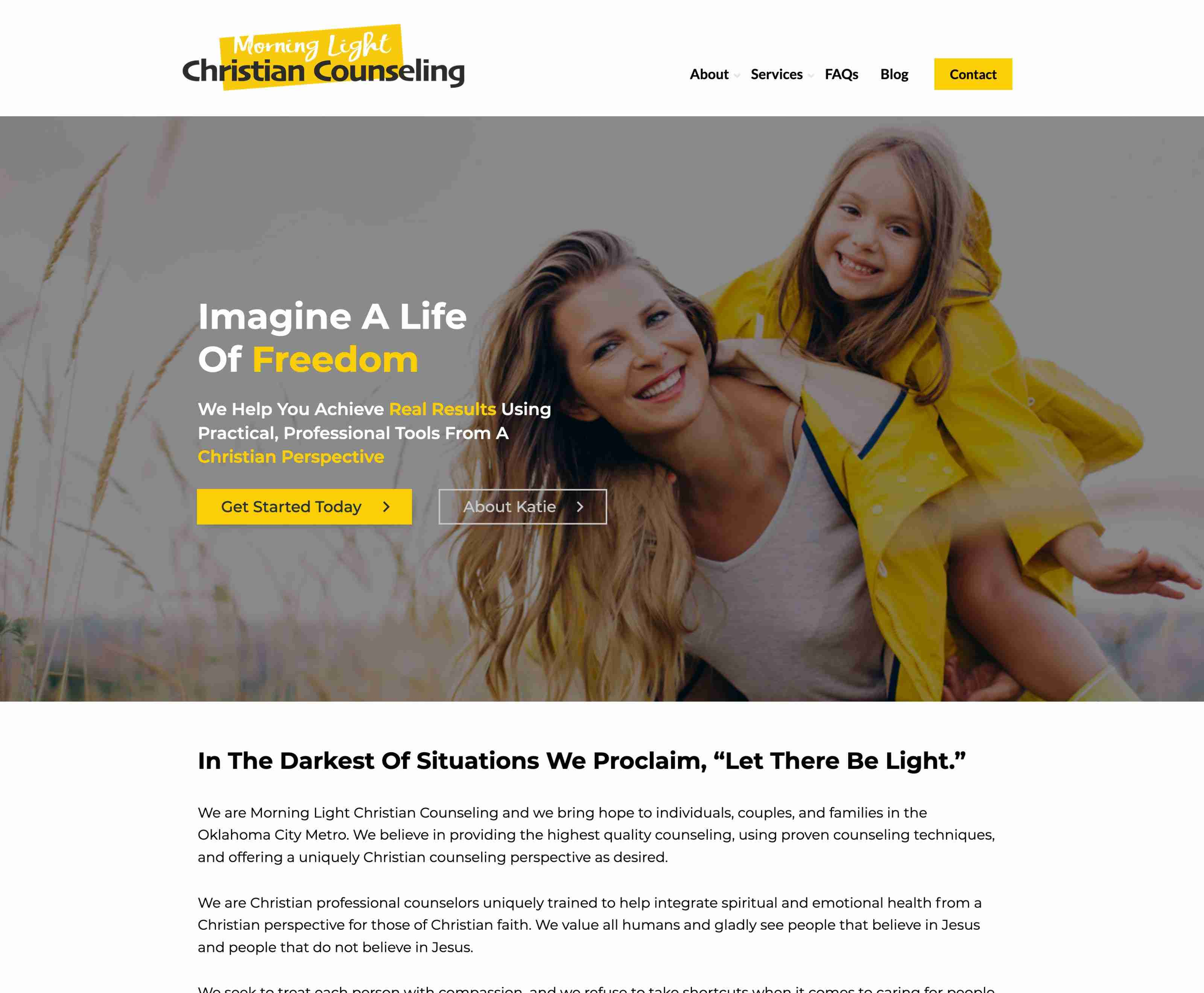 Morning Light Christian Counseling