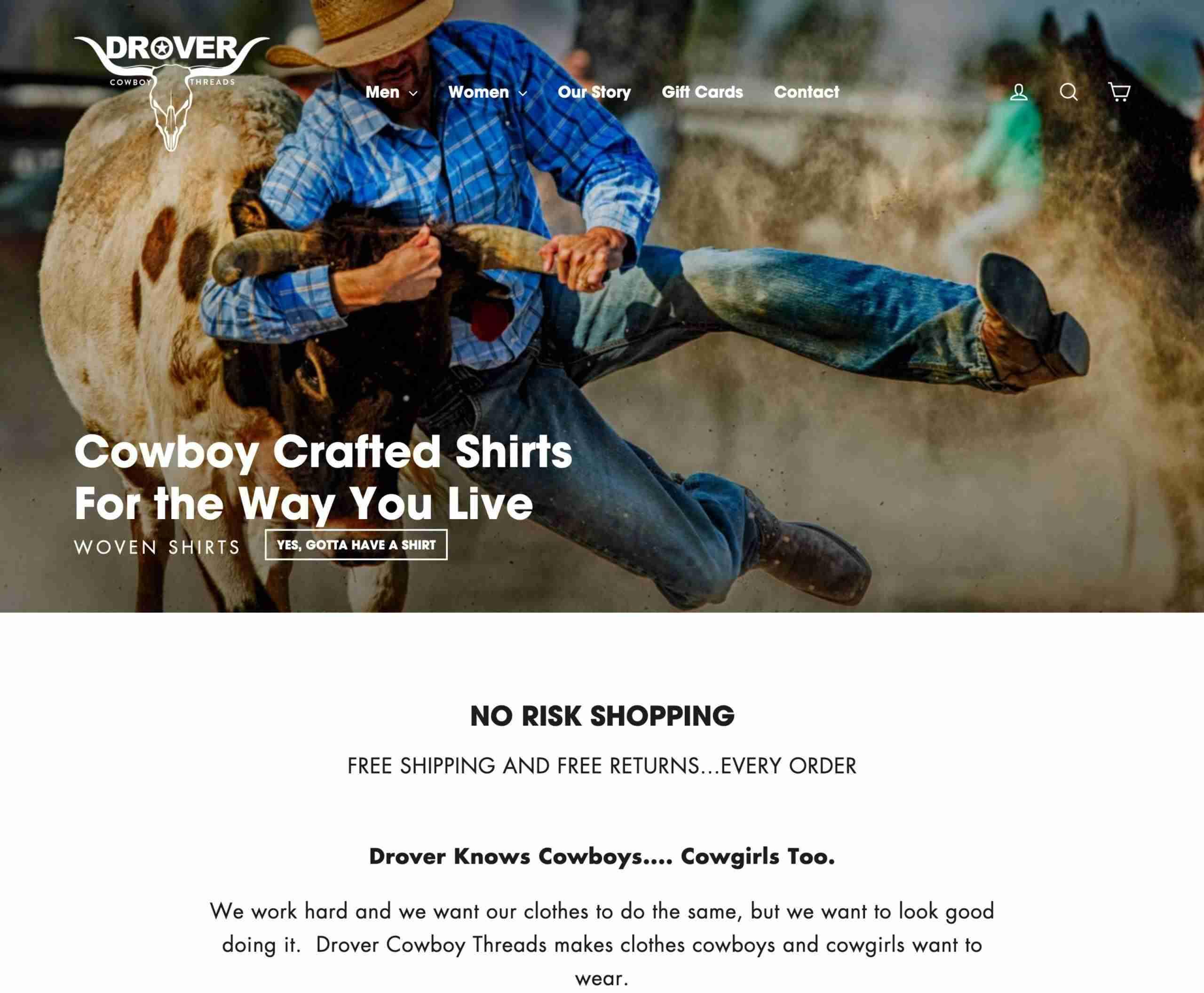 Drover Cowboy Threads