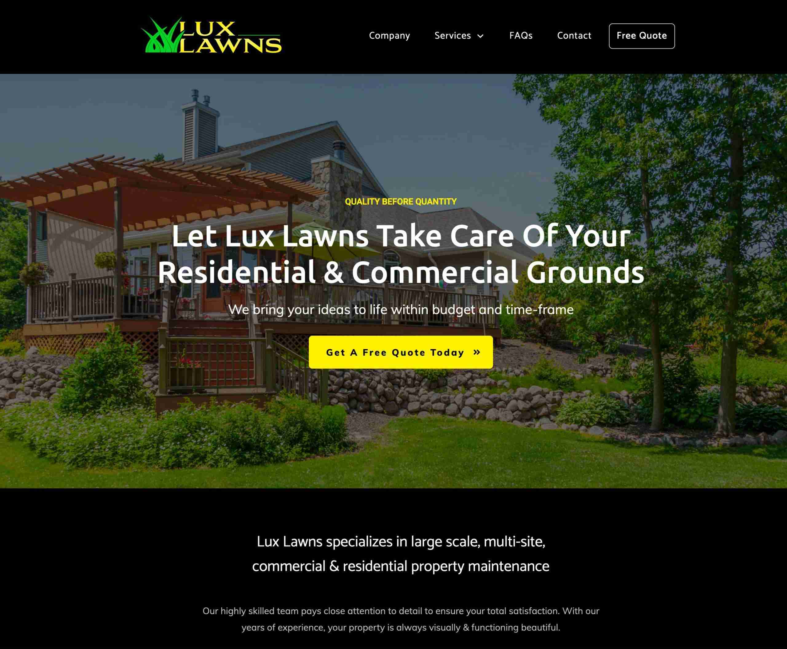 Lux Lawns
